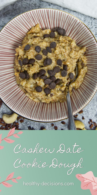 Cashew Date Cookie Dough Pin