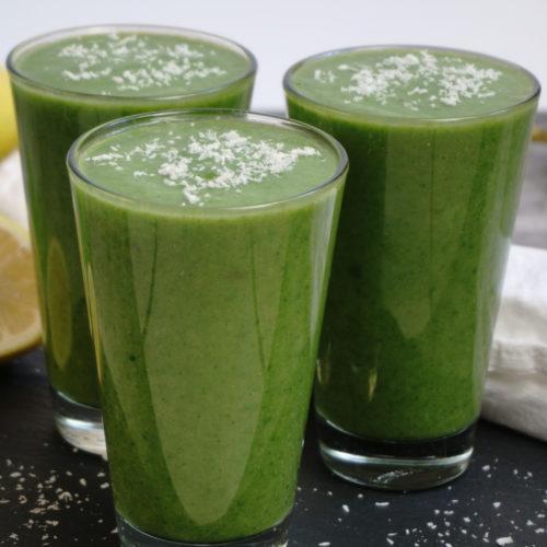 Vegan Green Smoothie Front Shot