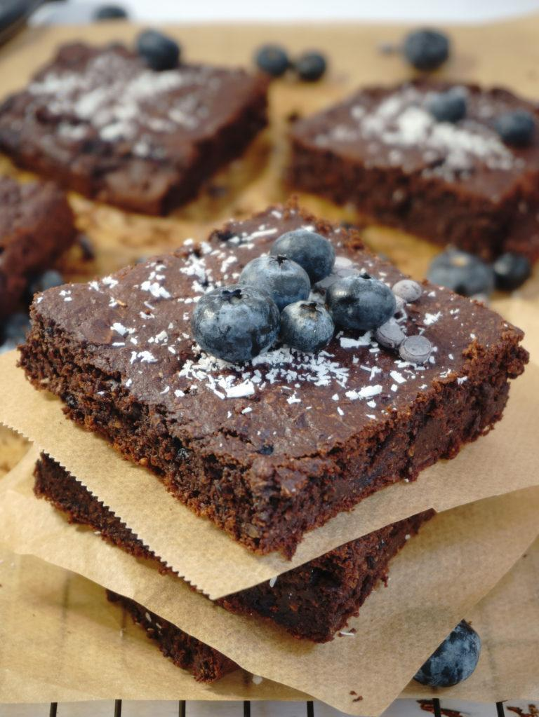 Vegan Sugarfree Brownies