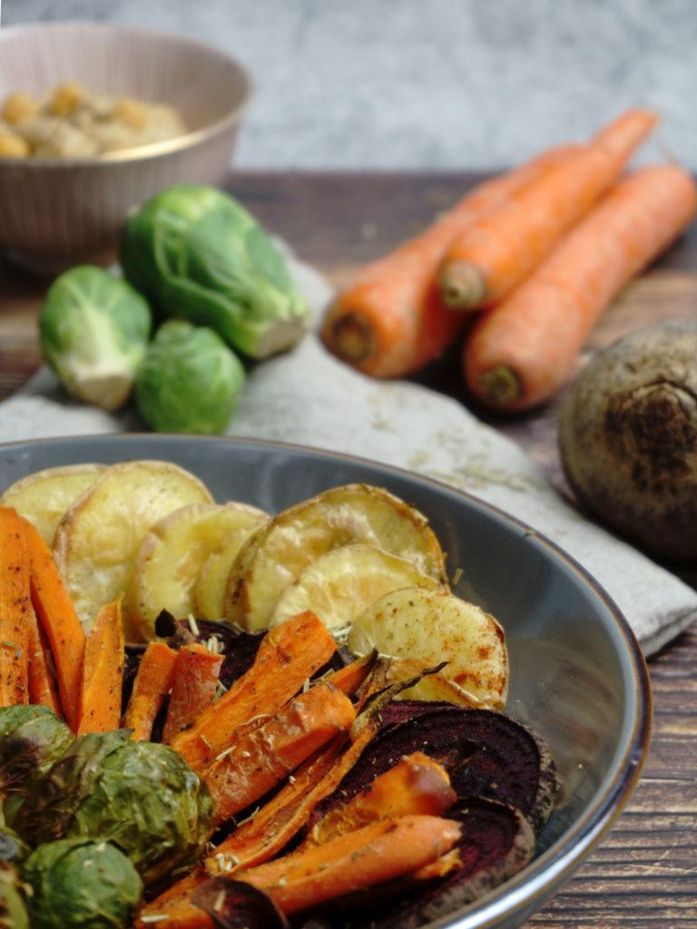 Oven Roasted Vegetables With Potatoes