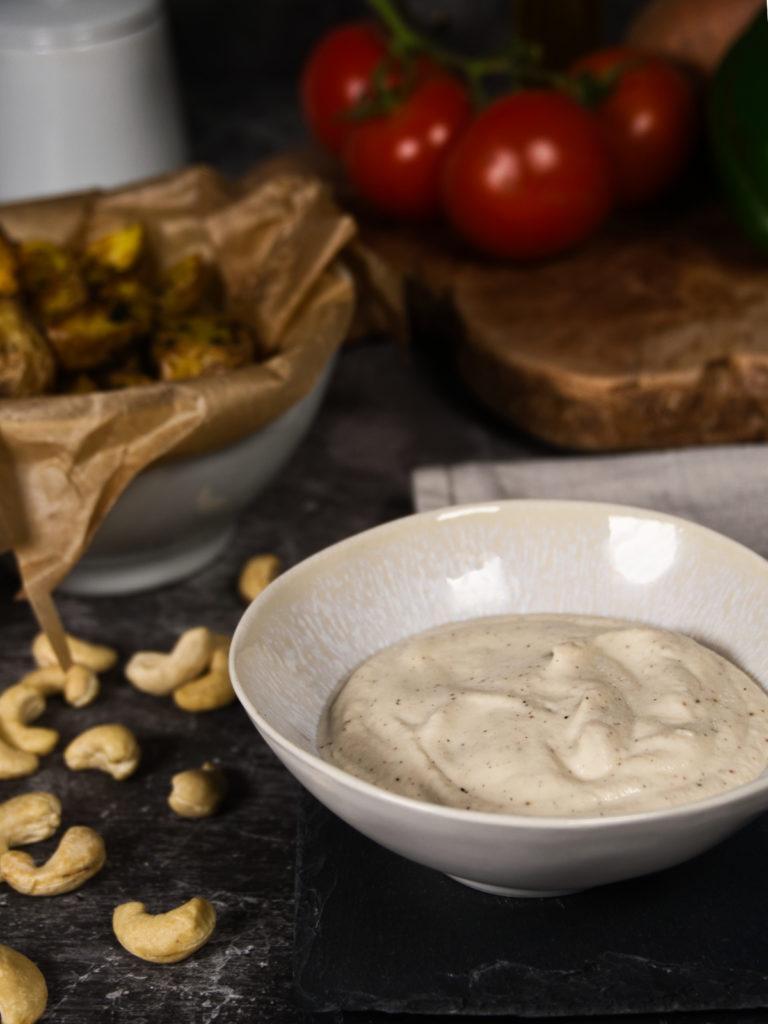 Homemade Vegan Mayonnaise