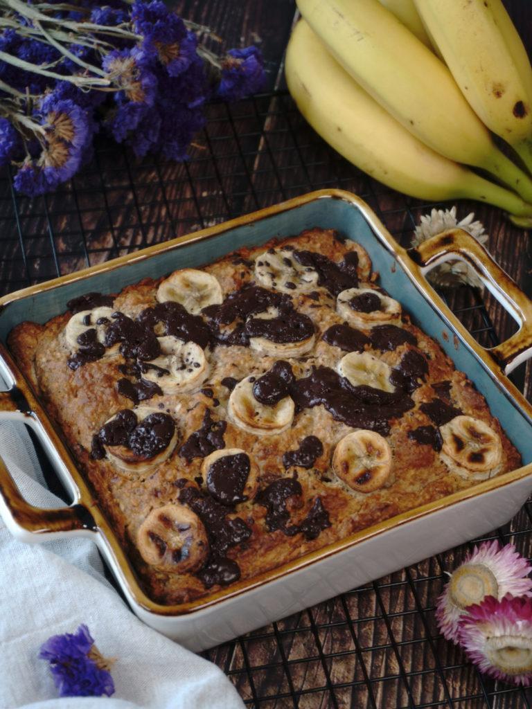 Vegan and Sugar-Free Banana Cake